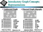 introductory graph concepts representations