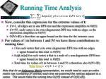 running time analysis1