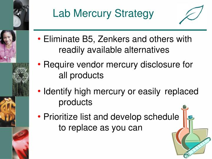 Lab Mercury Strategy