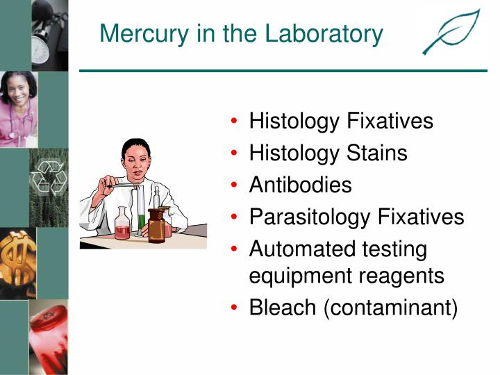 Mercury in the Laboratory