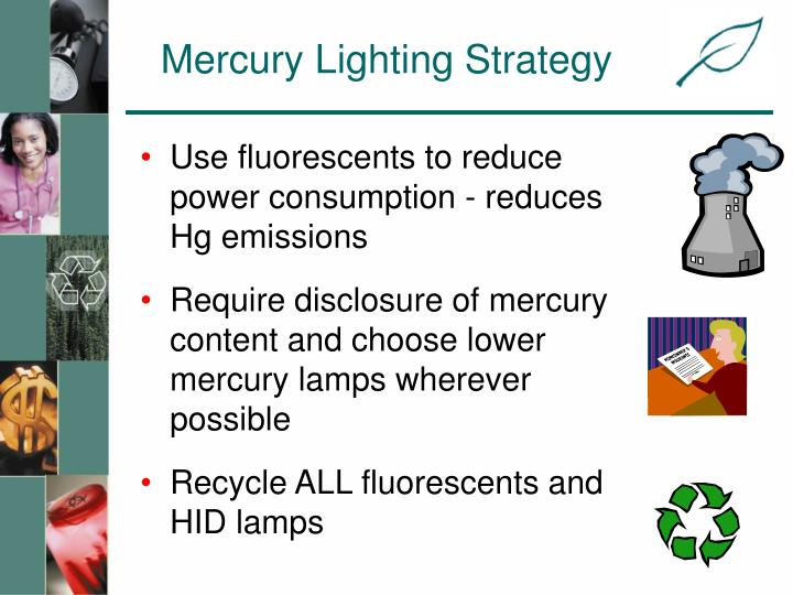 Mercury Lighting Strategy
