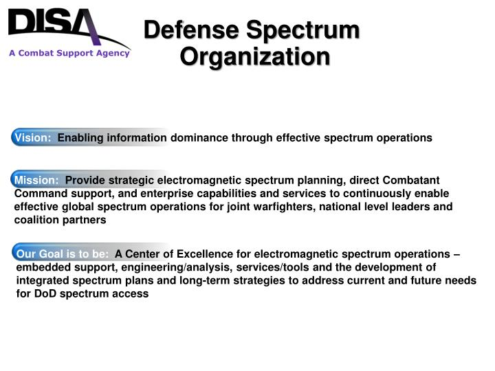 Defense Spectrum