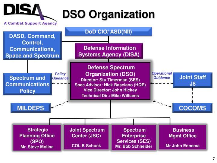 DSO Organization