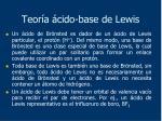 teor a cido base de lewis2