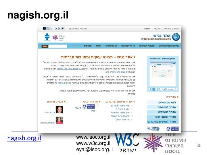 nagish.org.il