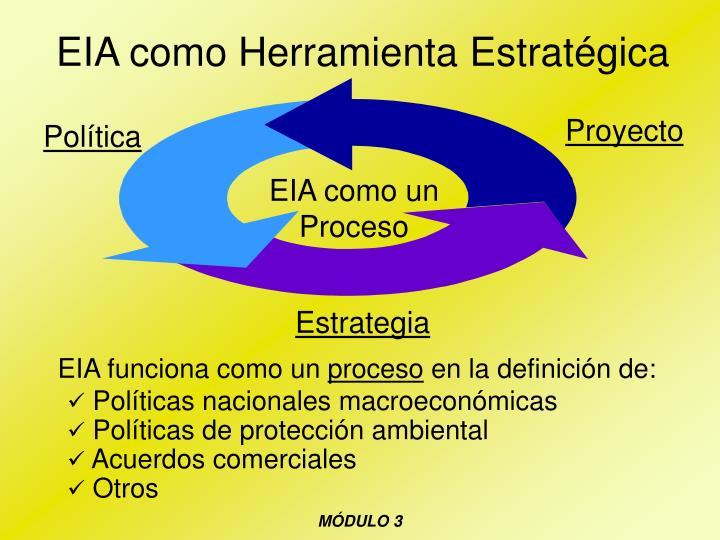 EIA como Herramienta Estratégica
