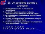 ej un accidente camino a chimbote