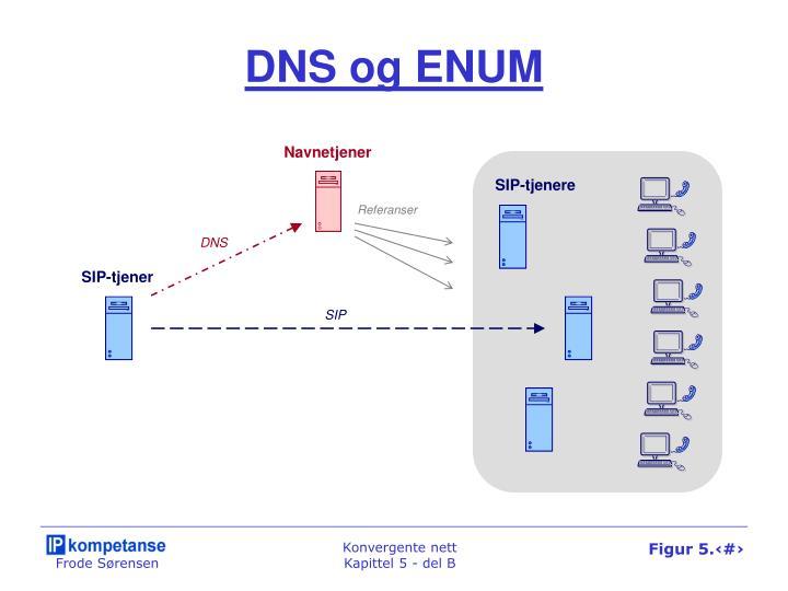DNS og ENUM