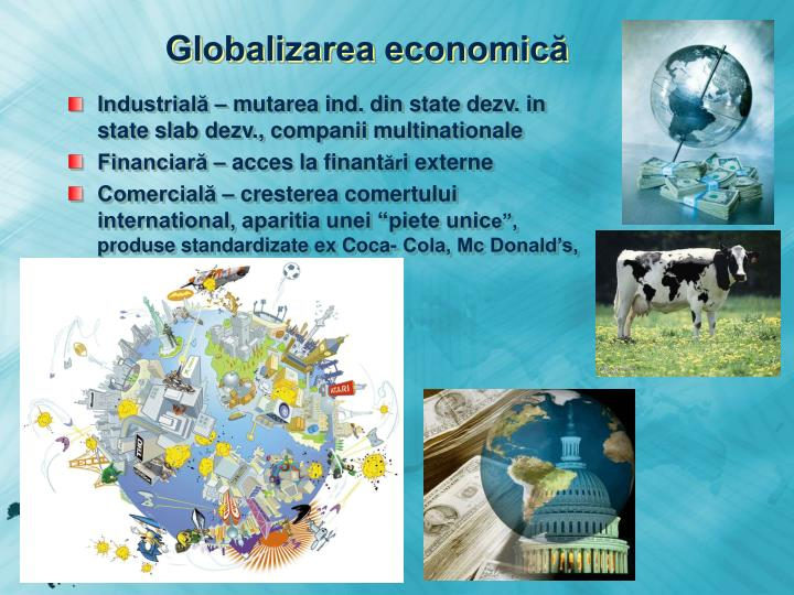 Globalizarea economică