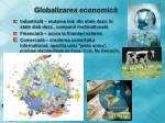 globalizarea economic