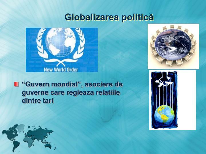 Globalizarea politică