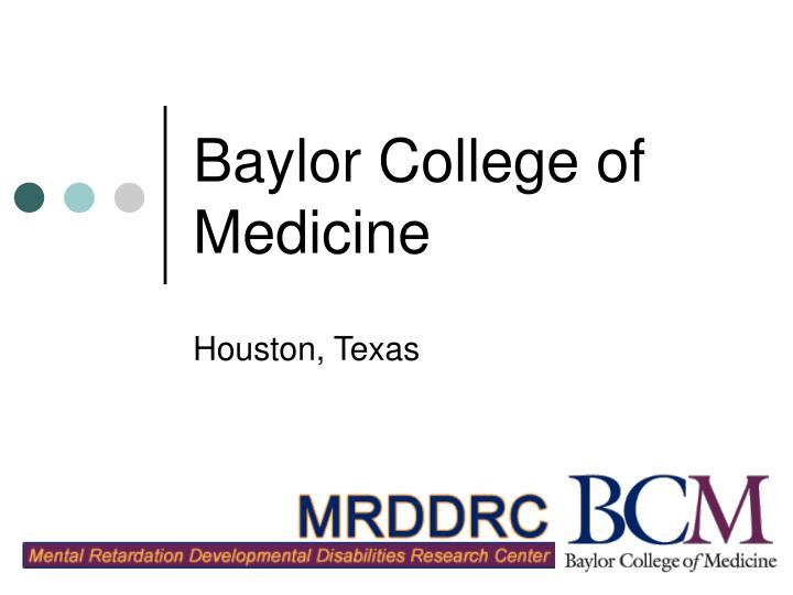 Locations physical medicine and rehabilitation baylor college of