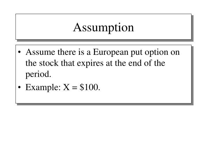 Assumption