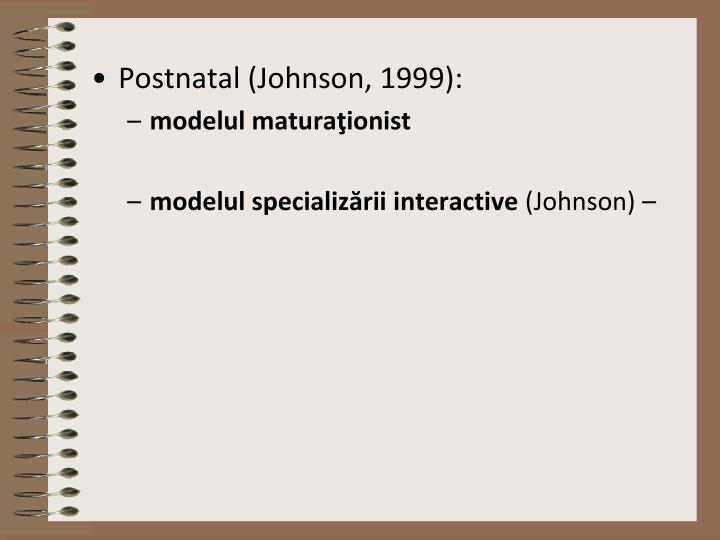 Postnatal (Johnson, 1999):