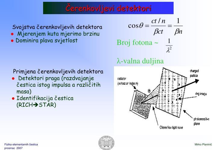 Čerenkovljevi detektori