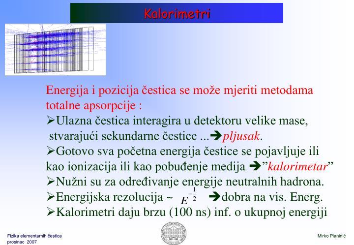 Kalorimetri
