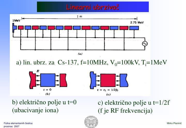 Linearni ubrziva
