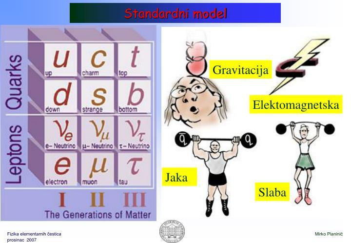 Standardni model