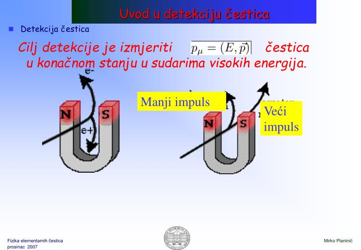 Uvod u detekciju čestica