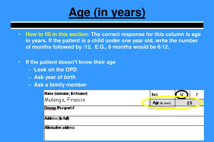 Age (in years)