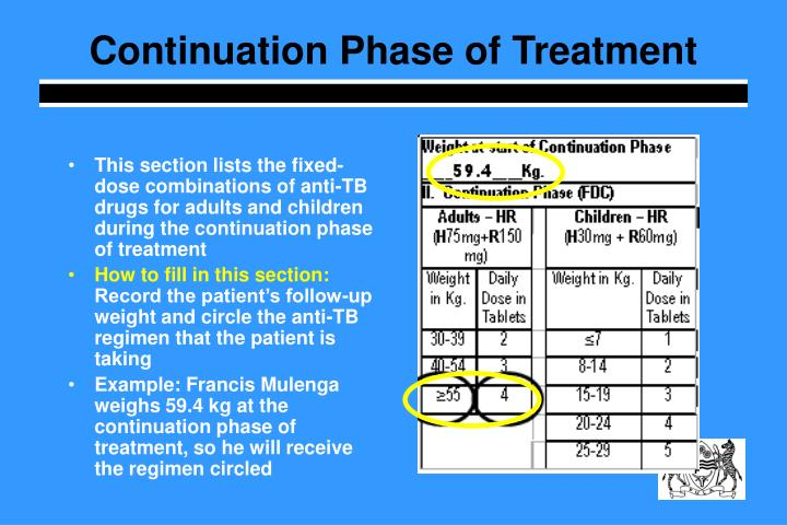 Continuation Phase of Treatment