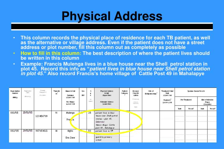 Physical Address