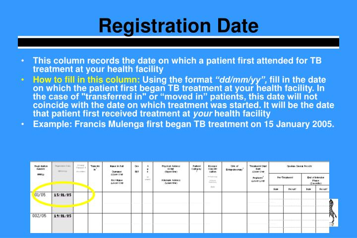 Registration Date