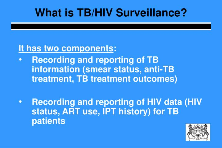What is TB/HIV Surveillance?