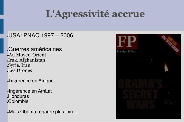 USA: PNAC 1997 – 2006