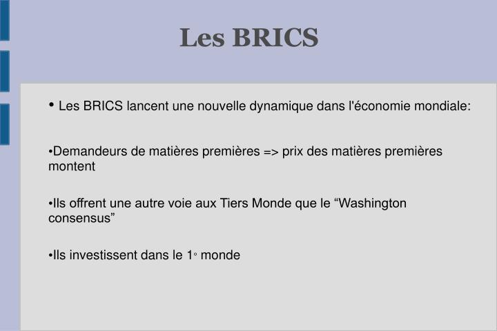 Les BRICS