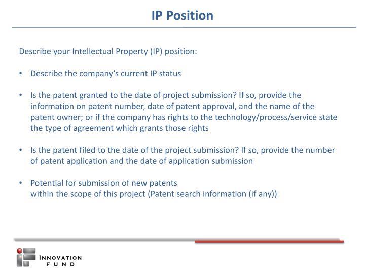 IP Position