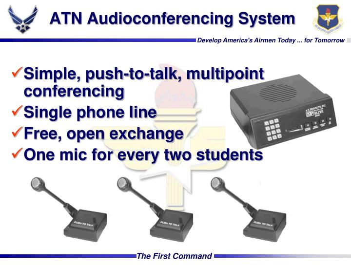 ATN Audioconferencing System