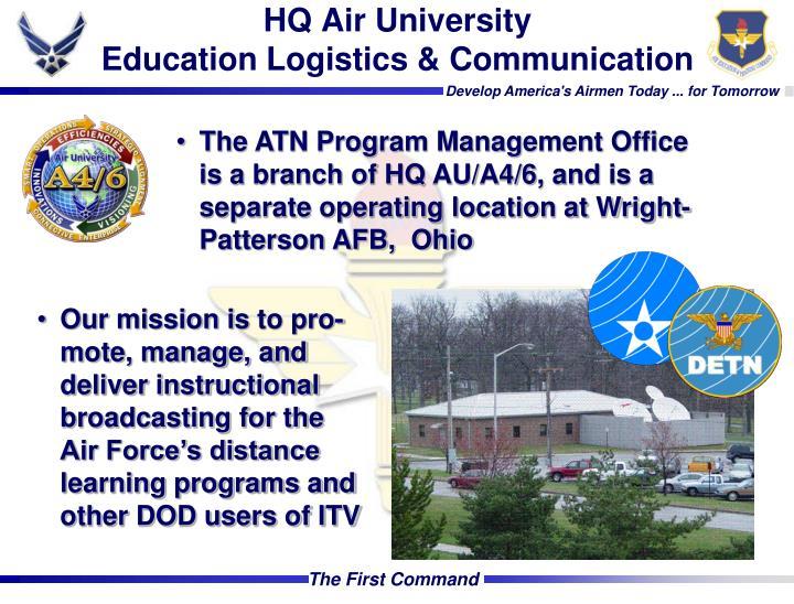 HQ Air University