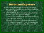 defusion exposure