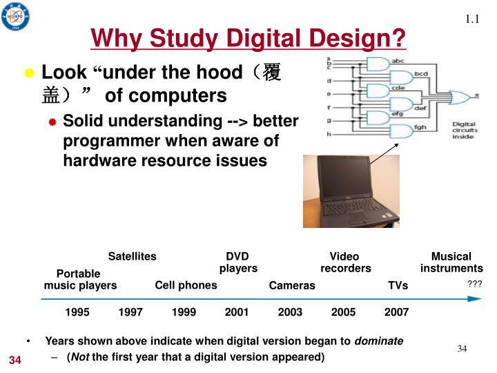 Why Study Digital Design?