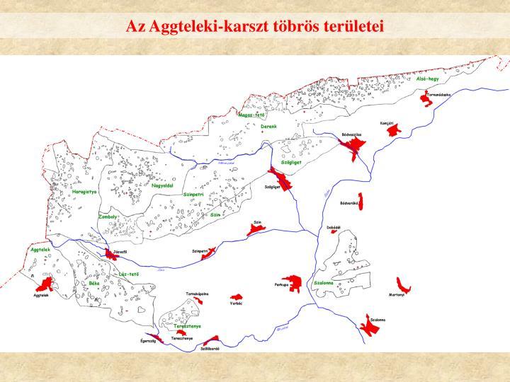 Az Aggteleki-karszt töbrös területei