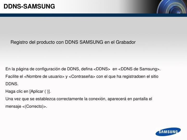 DDNS-SAMSUNG