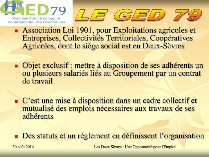 LE GED 79