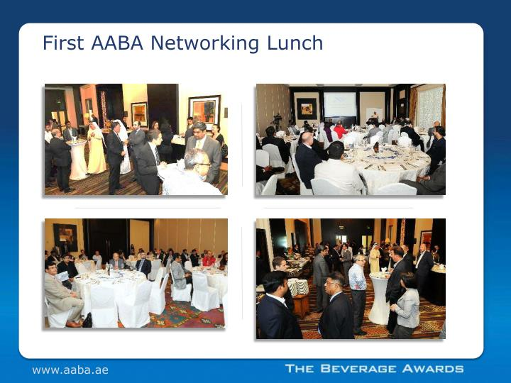 First AABA Networking Lunch