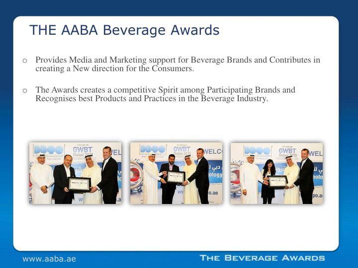 THE AABA Beverage Awards