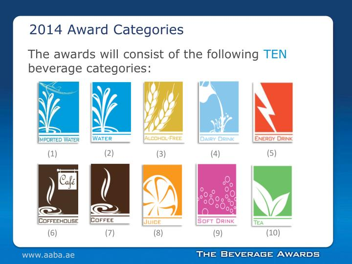 2014 Award Categories