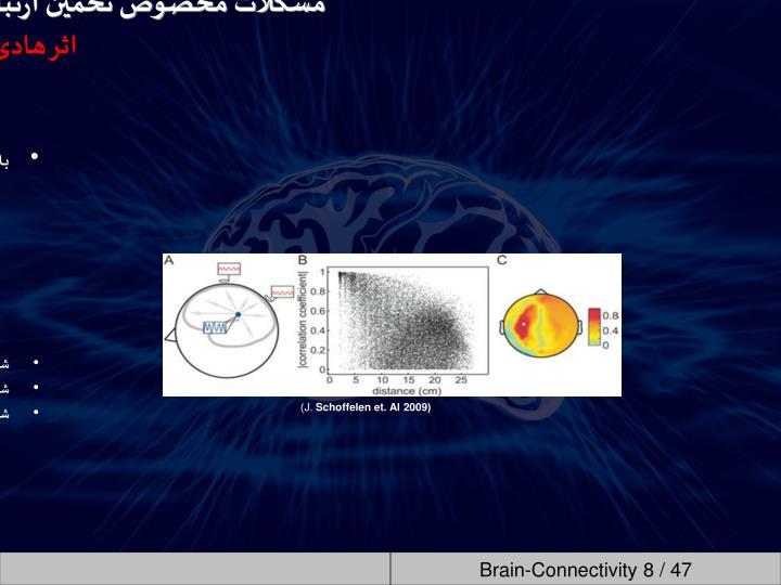 به این دلیل حتی در حالیکه فعالیت منابع نورونی زیر هر الکترود از هم مستقل باشند، یا حتی فعالیتی نداشته باشند، ارتباطی بین
