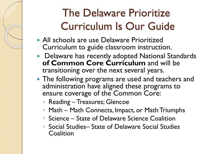 The Delaware Prioritize