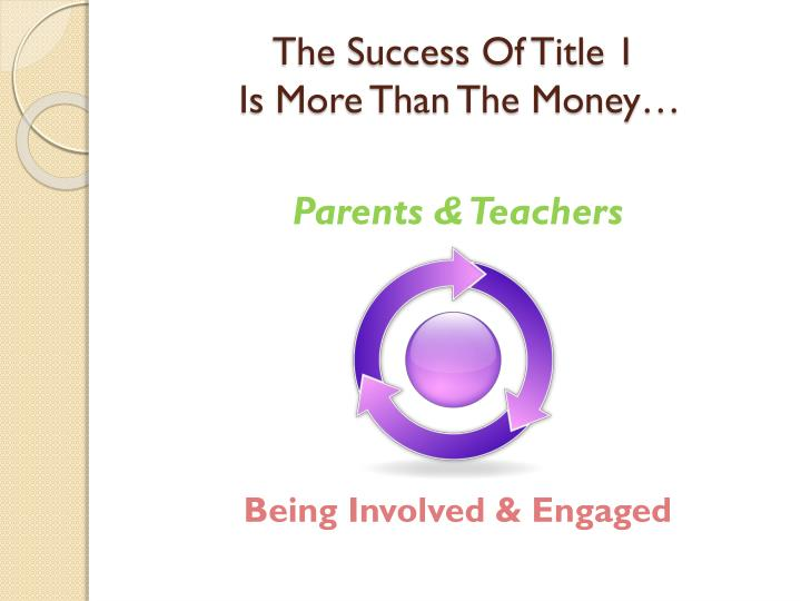 The Success Of Title 1