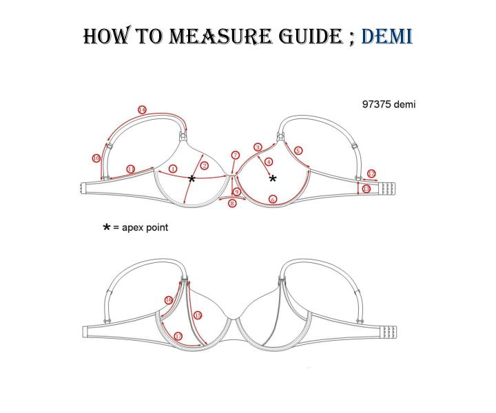 HOW TO MEASURE GUIDE ;