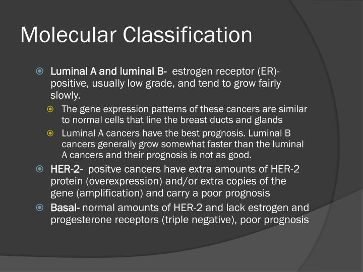 Molecular Classification