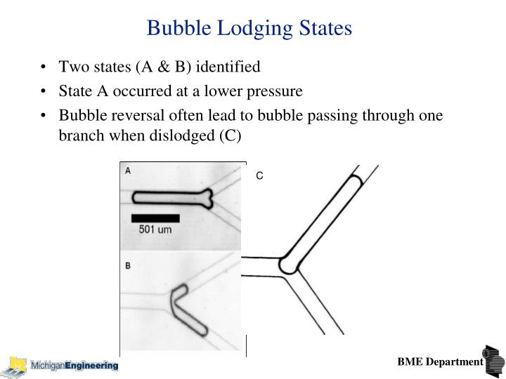 Bubble Lodging States