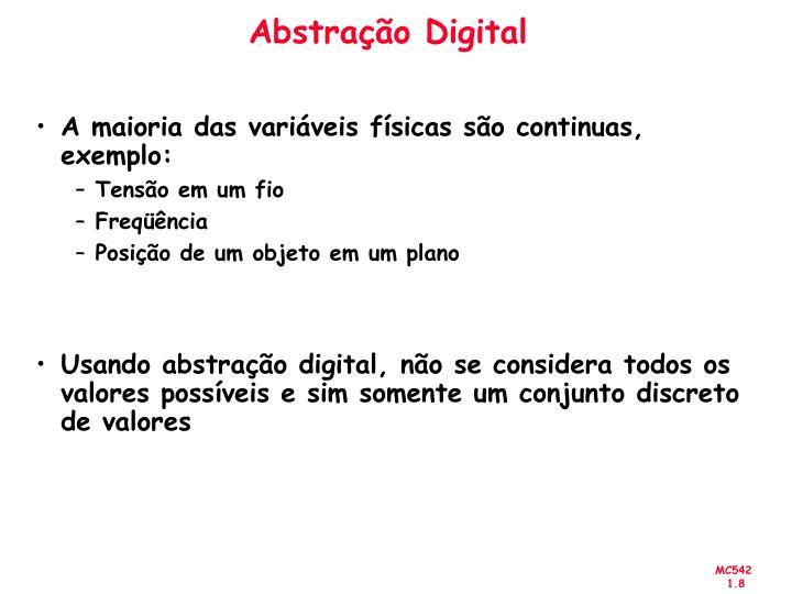 Abstração Digital