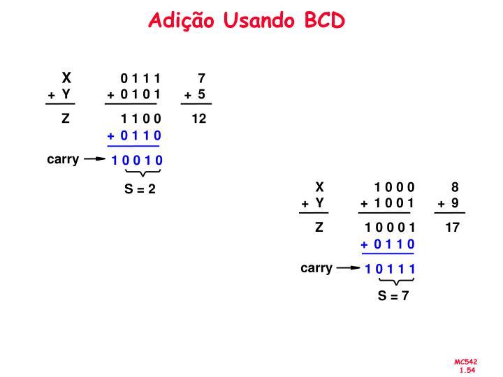 Adição Usando BCD