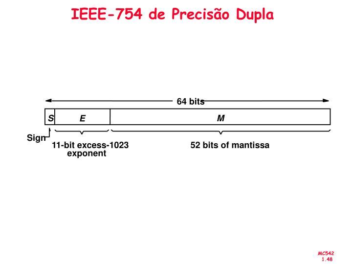IEEE-754 de Precisão Dupla